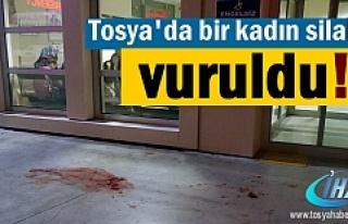 Tosya'da Bir Kadın vuruldu