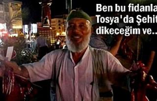 Tosya'da Demokrasi Şehitleri için Bin beşyüz...