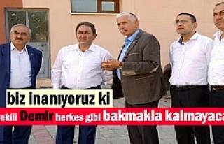 Milletvekili Murat Demir Tek Derdinin Hizmet olduğunu...