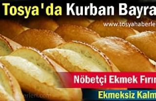 Tosya'da Kurban Bayramı'nda nöbetçi olacak...