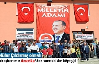 Tosya Dağardı Köyü Cumhurbaşkanı Erdoğan'ı...
