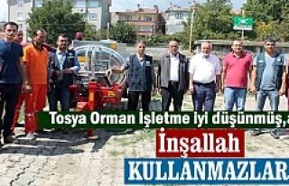 Tosya Orman İşletme Müdürlüğü tarafından Kilkuyu...