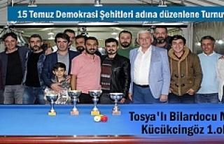 15 Temmuz Demokrasi Şehitleri anısına Tosya'da...
