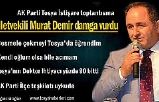 AK Parti İstişare Toplantısına Milletvekili Murat...