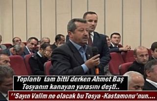 Şoförler Odası Başkanı Ahmet Baş Tosyanın kanayan...
