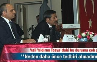 Tosya'da Fıkra gibi olaya Vali El Koydu