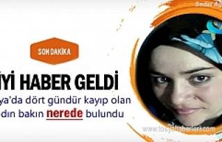 Tosya'da Kaybolan Kadın Bakın Nerede Bulundu