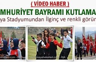 Tosya'da Cumhuriyet Bayramının 93.yıldönümü...