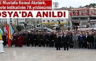 10 Kasım Tosya'da Anıldı