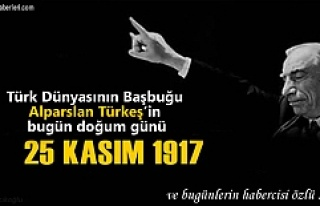 Bu gün rahmetli Alparslan Türkeş'in 99 doğum...