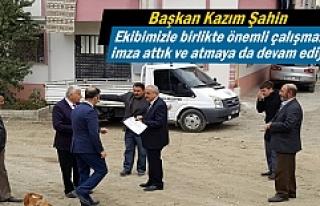 Tosya Belediyesi çalışmalarına hız verdi.