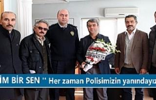Eğitim Bir Sen İlçe Emniyet Müdürlüğü Taziye...