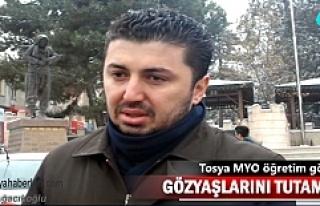Halep'e Yardım Kampanyasına Tosya MYO'dan...