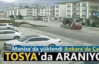 Manisa'da Yüklenen Ankara'da Çalınan...