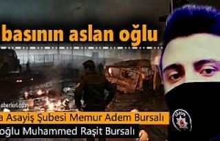 Tosya Asayiş Polis Memuru Adem Bursalı'nın...