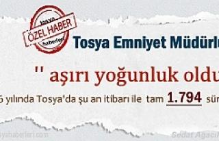 Tosya'da Ehliyetli Sürücü Sayısı ve Yeni...