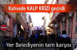 Tosya'da Kahvede Kalp Krizi Geçiren vatandaş...