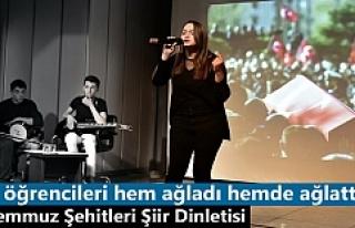 Tosya'da Öğrenciler ''15 Temmuz Şehitler''...