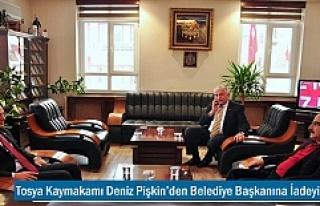 Tosya Kaymakamı Deniz Pişkin'den Belediye Başkanına...