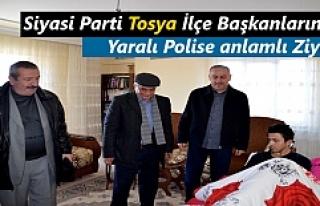 Siyasi Parti Tosya İlçe Başkanlarından Yaralı...