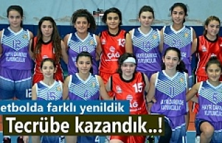 Tosya Spor U-16 Kız Basketbol takımı Kastamonu...