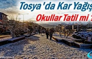 Yarın Tosya'da Okullar Tatil mi?