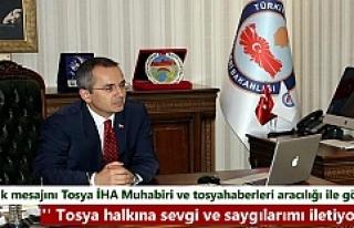 Yeni Tosya Kaymakamı Deniz Pişkin'in Tosya...