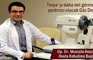 Göz Hastalıkları Uzmanı Op. Dr. Mustafa Hepokur...