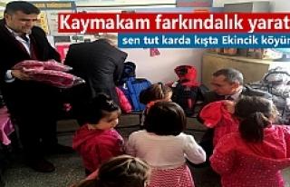 Tosya Kaymakamı Deniz Pişkin Ekincik Köyü'nü...