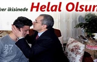 Tosya Kaymakamı Deniz Pişkin Gazi Polisi Ziyaret...