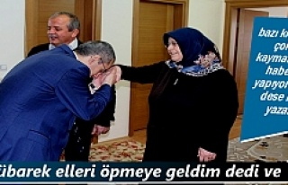Tosya Kaymakamı Deniz Pişkin Şehit Ailelerini Ziyaret...