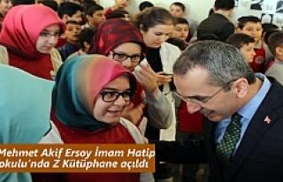 Tosya Mehmet Akif Ersoy İmam Hatip Ortaokulu'nda...