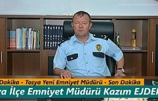Tosya'ya Yeni İlçe Emniyet Müdürü Atandı