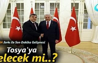 Türkiye AB temsilcisi Faruk Kaymakçı Tosya'ya...