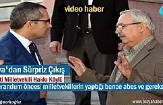 AK Parti Milletvekili Hakkı Köylü'den Referandum...