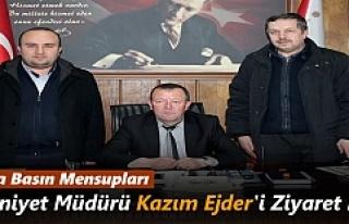 Tosya Basın Mensupları Emniyet Müdürünü Ziyaret...