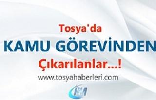 Tosya'da 686 sayılı KHK ile 3 öğretmen meslekten...