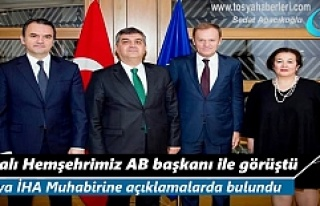 Tosya'lı Hemşehrimiz Faruk Kaymakçı AB Komisyonu...