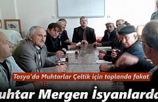 Tosya'da Çeltik Yetiştiricileri İle Toplantı