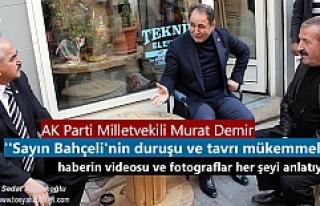 AK Parti Milletvekili Murat Demir'den MHP ilçe...