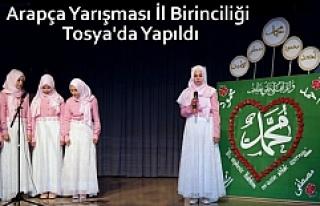 İmam Hatip Okulları 8.Arapça Etkinlik İl Yarışması...