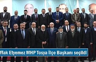Muvaffak Etyemez MHP Tosya İlçe Başkanı seçildi