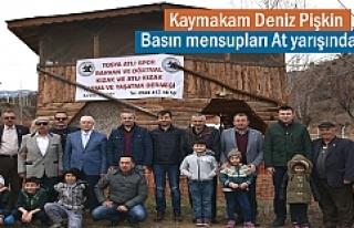 Tosya Atlı Spor Rahvan Derneği toplantısnda ilginç...