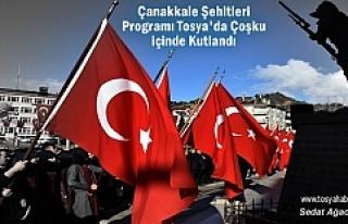 Tosya'da 18 Mart Şehitleri Anma ve Çanakkale...