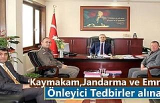 Tosya'da Önleyici Tedbirler Alınacak