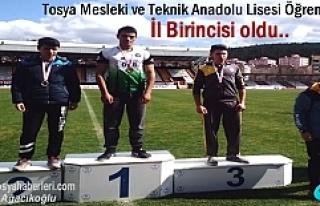Tosya Mesleki ve Teknik Anadolu Lisesi Öğrencisi...