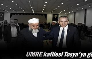 Tosya Umre Kafilesi ilçeye döndü