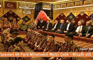 Tosya Yarenleri AK Parti Milletvekili Metin Çelik'i...