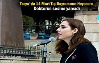 Tosya'da 14 Mart Tıp Bayramı Etkinlikleri Çelenk...