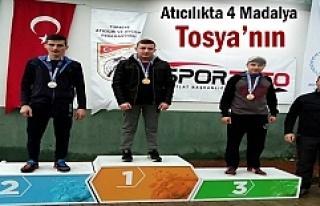 Tosyalı Sporcular Türkiye Atıcılık Yarışmasında...
